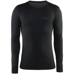 Craft Seamless LS Men B999 Black 1903789 pánské bezešvé funkční triko dlouhý rukáv