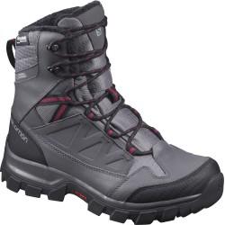 Salomon Chalten TS CSWP W Quiet Shade/Magnet/Beet red 399671 dámské zimní nepromokavé boty