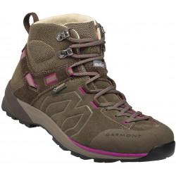 Garmont Santiago GTX W brown/fucsia dámské nepromokavé kožené trekové boty