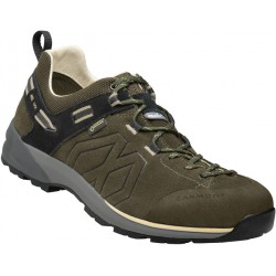 Garmont Santiago Low GTX M olive green/beige pánské nízké nepromokavé kožené boty