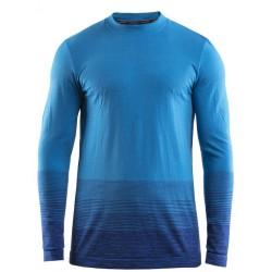 Craft Wool Comfort 2.0 CN LS M thunder/ray 1905344-392355 pánské triko dlouhý rukáv