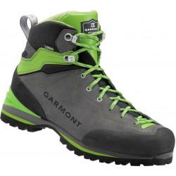 Garmont Ascent GTX anthracite/green pánské nepromokavé kožené trekové boty