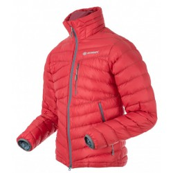 Sir Joseph Apris Man červená pánská lehká péřová bunda