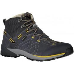 Garmont Santiago GTX M dark grey/yellow pánské nepromokavé kožené trekové boty