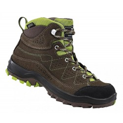 Garmont Escape Tour GTX K brown dětské nepromokavé kožené trekové boty