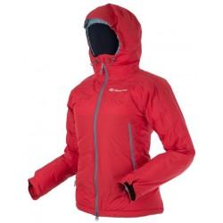 Sir Joseph Shiprock Lady červená dámská nepromokavá zimní péřová bunda Exel Dry Stream