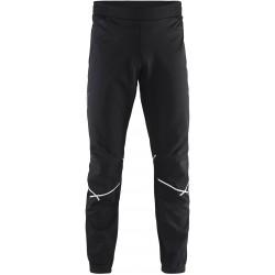 Craft Force Pant Men black/white 1905250-9999 pánské softshellové běžecké kalhoty
