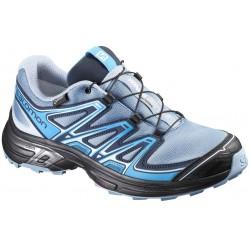 Salomon Wings Flyte 2 GTX W windy blue/black 390688 dámské nepromokavé běžecké boty 1