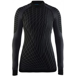 Craft Active Intensity CN LS W black/granite 1905333-999985 dámské triko dlouhý rukáv