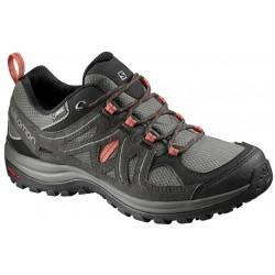 Salomon Ellipse 2 GTX W castor gray/beluga 400021 dámské nízké nepromokavé boty 1