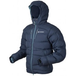 Sir Joseph Terag Man tmavě modrá pánská nepromokavá zimní péřová bunda Exel Dry Stream