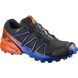 Salomon Speedcross 4 GTX LTD black/scarlet ibis 401774 pánské nepromokavé běžecké boty