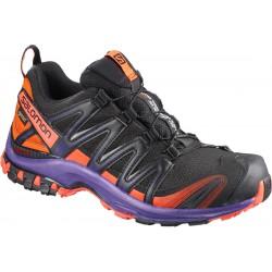 Salomon XA Pro 3D GTX LTD W black/nasturtium 401773 dámské nepromokavé běžecké boty