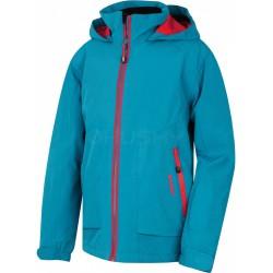 Husky Zengl K modrá dětská nepromokavá zimní lyžařská bunda HuskyTech 15000