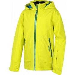 Husky Zengl Junior světle zelená dětská nepromokavá zimní lyžařská bunda HuskyTech