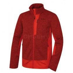 Husky Alan M sv. červená pánský sportovní svetr