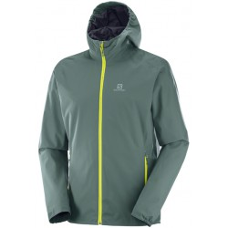 Salomon Essential JKT M north atlantic 393848 pánská nepromokavá bunda