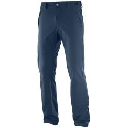 Salomon Wayfarer Pant M dress blue 393898 pánské lehké turistické kalhoty
