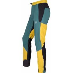 High Point Gale Pants yellow/pacific pánské softshellové kalhoty