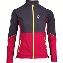 High Point Gale Lady Jacket carbon/cerise dámská softshellová bunda