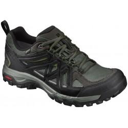 Salomon Evasion 2 GTX castor gray/black/chive 393586 pánské nízké nepromokavé boty (1)