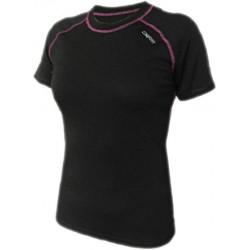 Jitex Ibriza 801 TSS černá dámské triko krátký rukáv Merino vlna