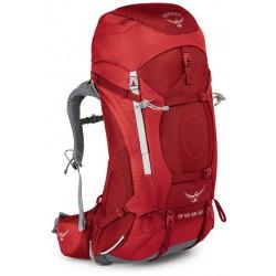 Osprey Ariel AG 55l WS picante red dámský expediční batoh