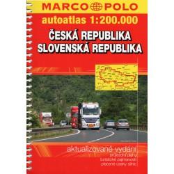 Marco Polo Česká republika, Slovenská republika 1:200 000 autoatlas