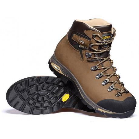 e095d09d0da Asolo Fandango Duo GV ML GTX brown dámské nepromokavé kožené trekové boty