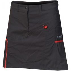 Direct Alpine Jasmin 1.0 black/red dámská sportovní sukně