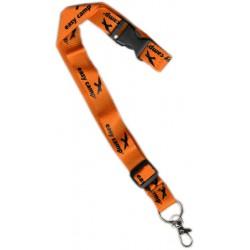 Easy Camp Strap šňůrka na krk s karabinou oranžová - dárek k nákupu nad 3000 Kč/111 Eur