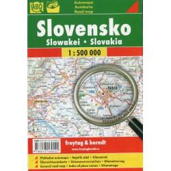 Freytag a Berndt Slovensko 1:500 000 automapa