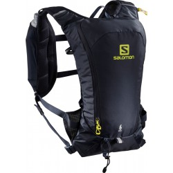 Salomon Agile 6l Set black 401645 běžecký batoh + 2 ks měkké láhve