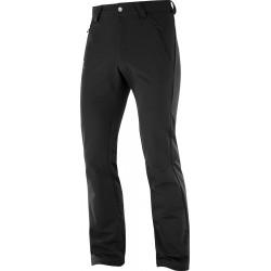 Salomon Wayfarer Warm Pant black 404089 pánské turistické kalhoty