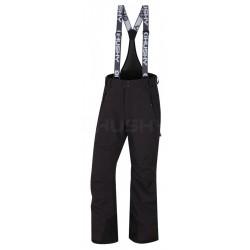 Husky Mithy M DOPRODEJ černá pánské nepromokavé zimní lyžařské kalhoty HuskyTech 20000