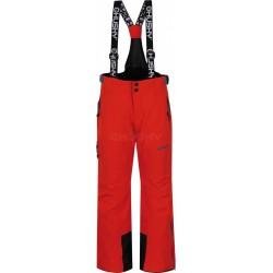 Husky Zeus Kids oranžová dětské nepromokavé zimní lyžařské kalhoty HuskyTech Stretch 15000