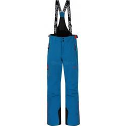 Husky Zeus Kids modrá dětské nepromokavé zimní lyžařské kalhoty HuskyTech Stretch 15000