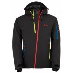 Kilpi Asimetrix-M černá, model 2017/2018 pánská nepromokavá zimní lyžařská bunda