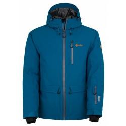 Kilpi Clif-M modrá pánská nepromokavá zimní lyžařská bunda