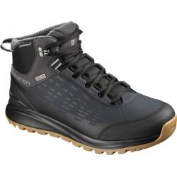 Salomon Kaipo CS WP 2 black/phantom/monument 404717 pánské zimní nepromokavé boty