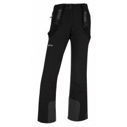 Kilpi Elare-W černá HL0011KIBLK dámské nepromokavé zimní lyžařské kalhoty