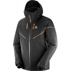 _Salomon Stormrace Jacket M Black 403928 pánská změřeno