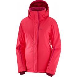 Salomon Stormpunch Jacket W Hibiscus 404446 dámská nepromokavá zimní  lyžařská bunda 4307c22201a