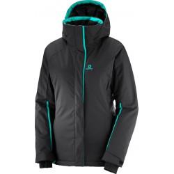 _Salomon Stormpunch Jacket W Black 404444 dámská změřeno