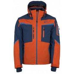 Kilpi Io-M oranžová pánská nepromokavá zimní lyžařská bunda