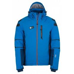 Kilpi Carpo-M modrá, model 2017/2018 pánská nepromokavá zimní lyžařská bunda