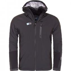 Kilpi Carpo-M tmavě šedá pánská nepromokavá zimní lyžařská bunda