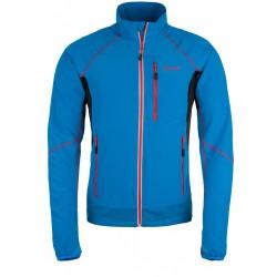Kilpi Nordim-M modrá 2019 pánská větruodolná bunda na běh,na kolo nebo běžky