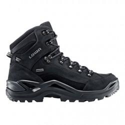 Lowa Renegade GTX Mid wide black/black pánské nepromokavé kožené trekové boty