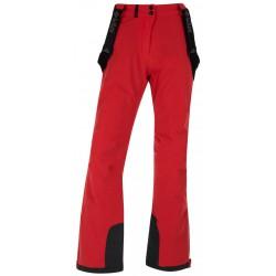 Kilpi Europa-W červená dámské nepromokavé zimní lyžařské kalhoty